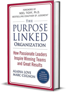 mockup of book THE PASSION LINKED ORGANIZATION